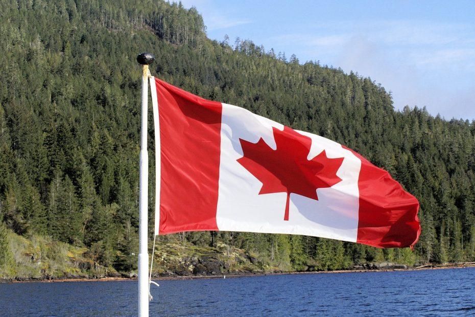 flag, canada, symbol